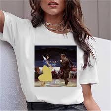 <b>LUSLOS</b> Mona Lisa Aesthetic Harajuku T <b>Shirt</b> Women Ulzzang ...