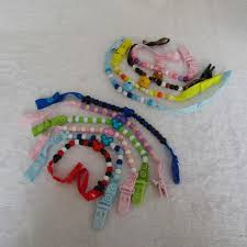 <b>Baby Pacifier Chain</b> Beads Pacifiers for <b>Baby</b> Teat Holders Pacifier ...