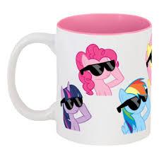 <b>Кружка цветная внутри</b> My Little Pony #84873 в Москве – купить ...