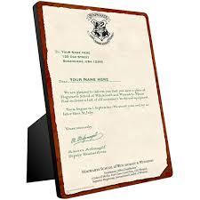 personalized hogwarts acceptance letter chromaluxe panel com personalized hogwarts acceptance letter chromaluxe panel