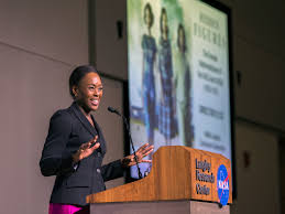 careers in aerospace technology nasa margot lee shetterly appeared 7 for a colloquium at s langley research center to talk