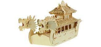 <b>Wooden Toys</b> Сборная модель Лодка Дракона - Акушерство.Ru