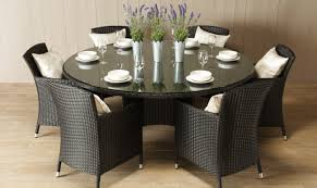 dining sets seater: stylish round dining room table for  round glass dining table
