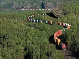 Image result for عبور خط راه اهن از مزرعه