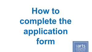 How to download, complete and upload the application form 2016 ...