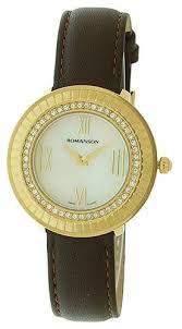 Наручные <b>часы ROMANSON RL0385TLG</b>(<b>WH</b>) — купить по ...