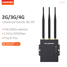 Comfast High Speed Outdoor AP 2.4G 4G <b>LTE Wireless AP Wifi</b> ...