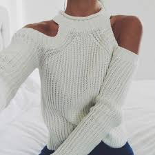 Love cut out <b>shoulders</b> on sweaters for the <b>fall</b>!
