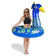 Матрас <b>надувной</b> для плавания <b>BigMouth Круг надувной Peacock</b> ...
