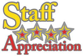 staff appreciation volunteer opportunities