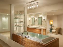 amazing bathroom light brushed nickel and twin mirrors with modern bathtub amazing amazing bathroom lighting