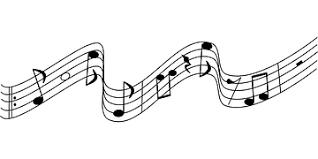 Imagini pentru note muzicale alb negru