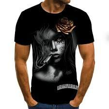 Новинка 2020, 3D <b>футболка</b>, 3D летняя модная <b>футболка</b> ...
