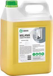 <b>Жидкое мыло Grass Milana</b> крем-мыло, молоко и мед, 5 л ...