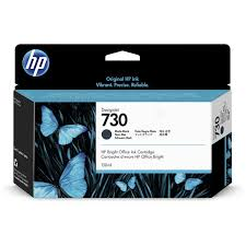 HPshop.ie <b>HP</b> P2V65A (<b>730</b>) Ink cartridge black <b>matt</b>, 130ml