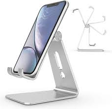 <b>Adjustable Cell Phone</b> Stand, OMOTON Aluminum Desktop ...