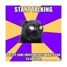 Anxiety cat (MEME) on Pinterest | Anxiety Cat, Anxiety and Stop ... via Relatably.com