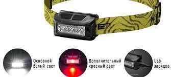 Налобный <b>фонарь Nitecore</b> NU10