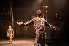 theater review othello chicago shakespeare theater othello james vincent meredith at right delights in his good fortune as