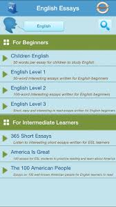learn english through essay writing on the app store