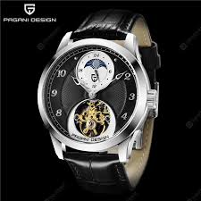 <b>PAGANI DESIGN</b> 1650 Fashion Men Mechanical Watch Sapphire ...