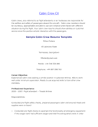 resume for hostess resume badak flight cabin crew resume examples