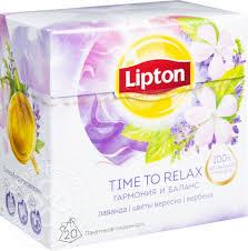 Купить Чай травяной <b>Lipton</b> Time to Relax Гармония и Баланс 20 ...