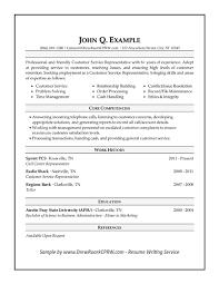 hybrid resume sample  cover letter resume sample    hybrid    customer service resume sample thumb