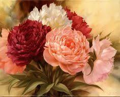 RUBOS <b>Diamond Mazayka</b> red <b>peony</b> flowers <b>5d</b> Diy Embroidery ...