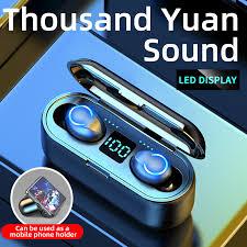 <b>Udyr Bluetooth</b> 5.0 <b>Wireless</b> Headphones 3D Hifi Stereo Sports ...
