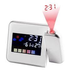 Mini <b>Digital Projection Clock</b> Pocket Portable LED Clocks With Time ...