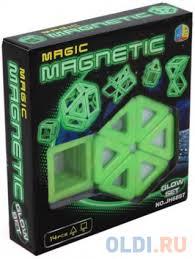 """<b>Конструктор</b> 3D <b>Shantou Gepai</b> """"Magnetic"""" 14 элементов JH6897 ..."""