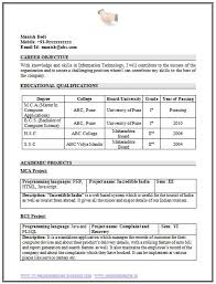 resume template of a computer science engineer fresher with great career objective and interest professional curriculum vitae with free download i free resume samples for freshers
