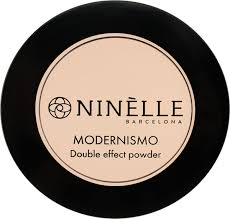 <b>Пудра для лица</b> Ninelle Modernismo, <b>двойного</b> действия, №222 ...