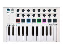 <b>MIDI</b>-<b>клавиатура Arturia MiniLab mkII</b> — купить за 8710 руб ...