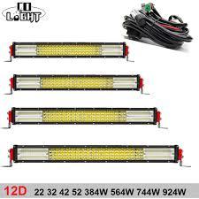 <b>CO LIGHT 4X4 Led</b> Car Light 22 32 42 52 Inch 12D Led Bar 384W ...