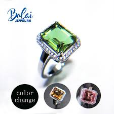 Bolaijewelry,Color change <b>zultanite</b> Gemstone <b>Ring 925 sterling</b> ...