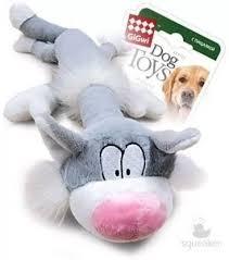 <b>Игрушка GiGwi Dog Toys</b> Кот с пищалкой для собак - купить в ...