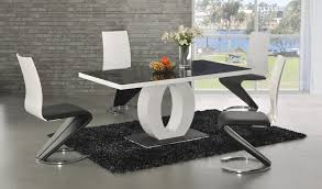dining table white cm