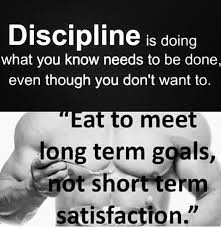Discipline program for Diet | itsmikki