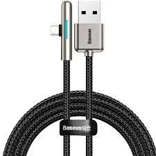 <b>Baseus Elbow LED</b> 40W USB Type-C Data Cable for Huawei P30 ...