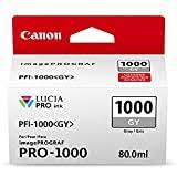 Canon PFI-1000 PGY Photo Grey Ink Tank ... - Amazon.com