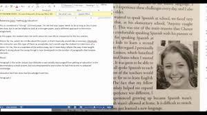 essay example visual essay example