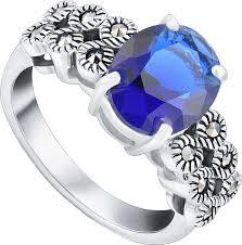 Серебряное кольцо <b>Silver Wings</b> 210024-297C-<b>39</b> c кубическим ...