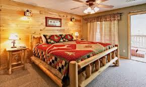 Rustic Cabin Bedroom Decorating Cabin Bedroom Decorating Ideas Home Design Ideas