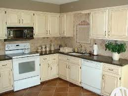 kitchen paint colors with cream cabinets: image of painted kitchen cabinet ideas rustic