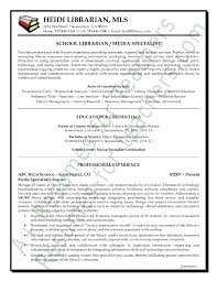 ideal resume format  resume examples format pdf resume for    media specialist \  librarian resume sample   page