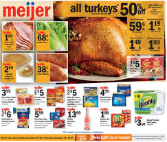 meijer weekly ad thanksgiving nov