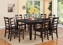 dining table that seats 10: large round oak dining table chairs