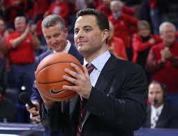 hansen book shows arizona s sean miller got hoops love work no 18 arizona wildcats vs oregon state men s college basketball